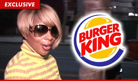 Mary J. Blige — Burger King Chicken Ad Was Not What I Expected ...